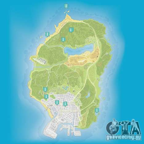 Карта трактатов Эпсилон в Grand Theft Auto 5
