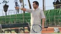 GTA 5: теннис