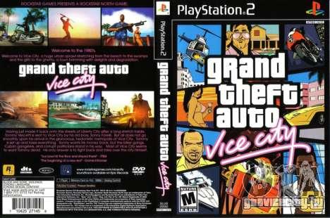 Релиз Vice City для PS2 в Европе и Австралии