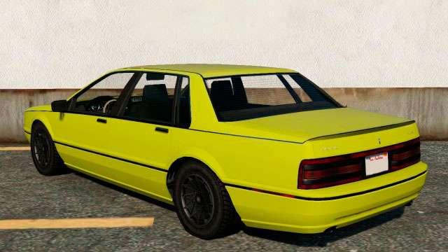 Albany Primo из GTA 5 - вид сзади
