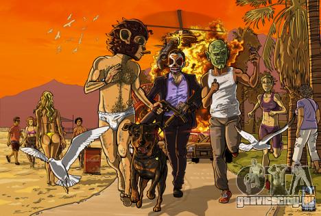 Обновление GTA Fan Art от 21 мая