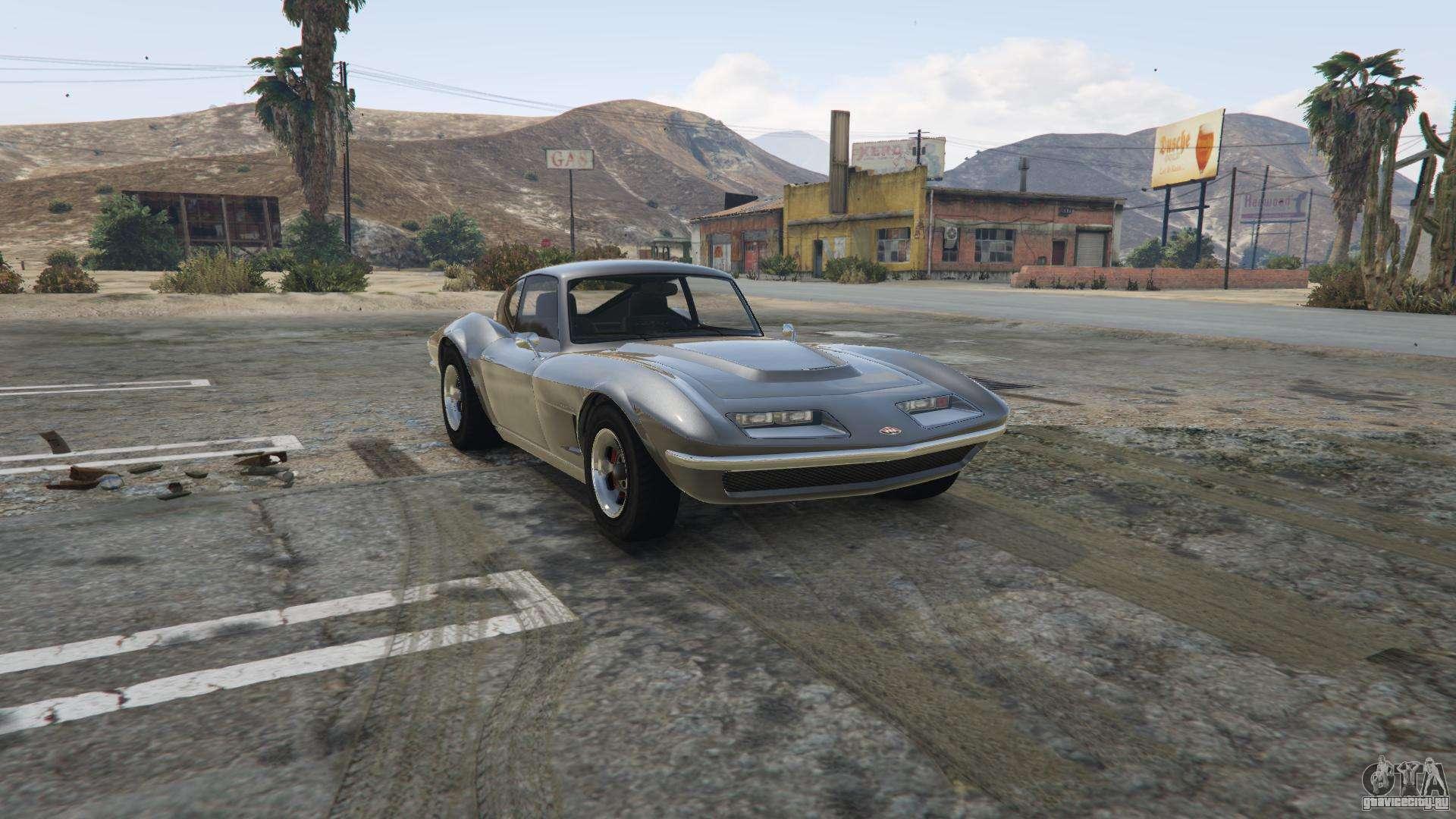 Invetero Coquette Classic из GTA 5 - вид спереди