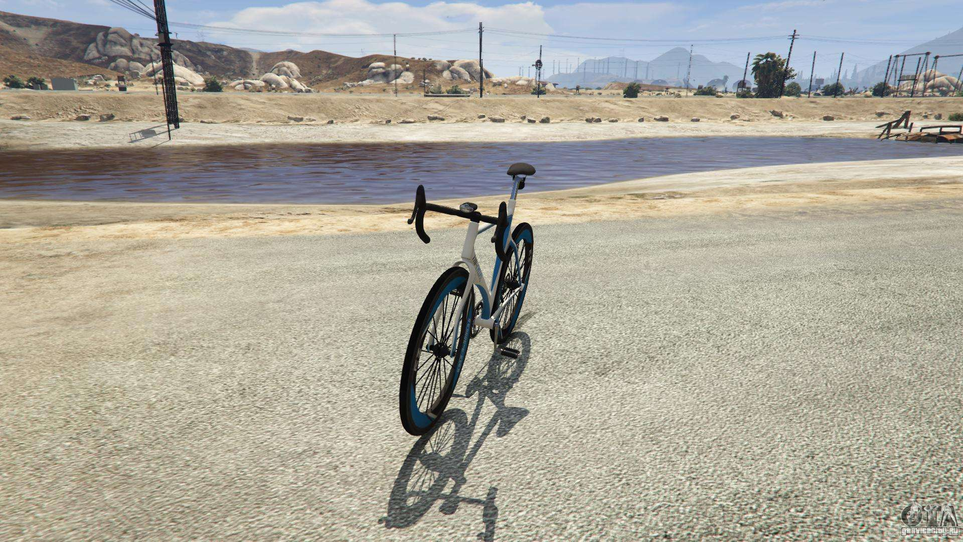 Tri-Cycles Race Bike из GTA 5
