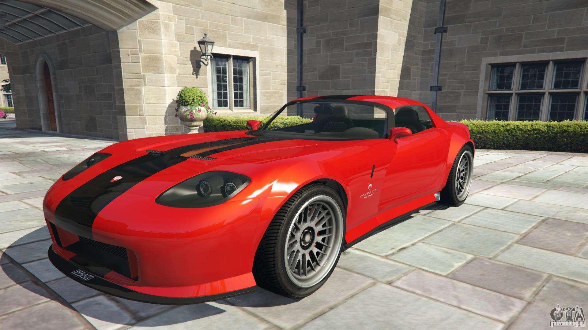 Bravado Banshee из GTA 5 - вид спереди