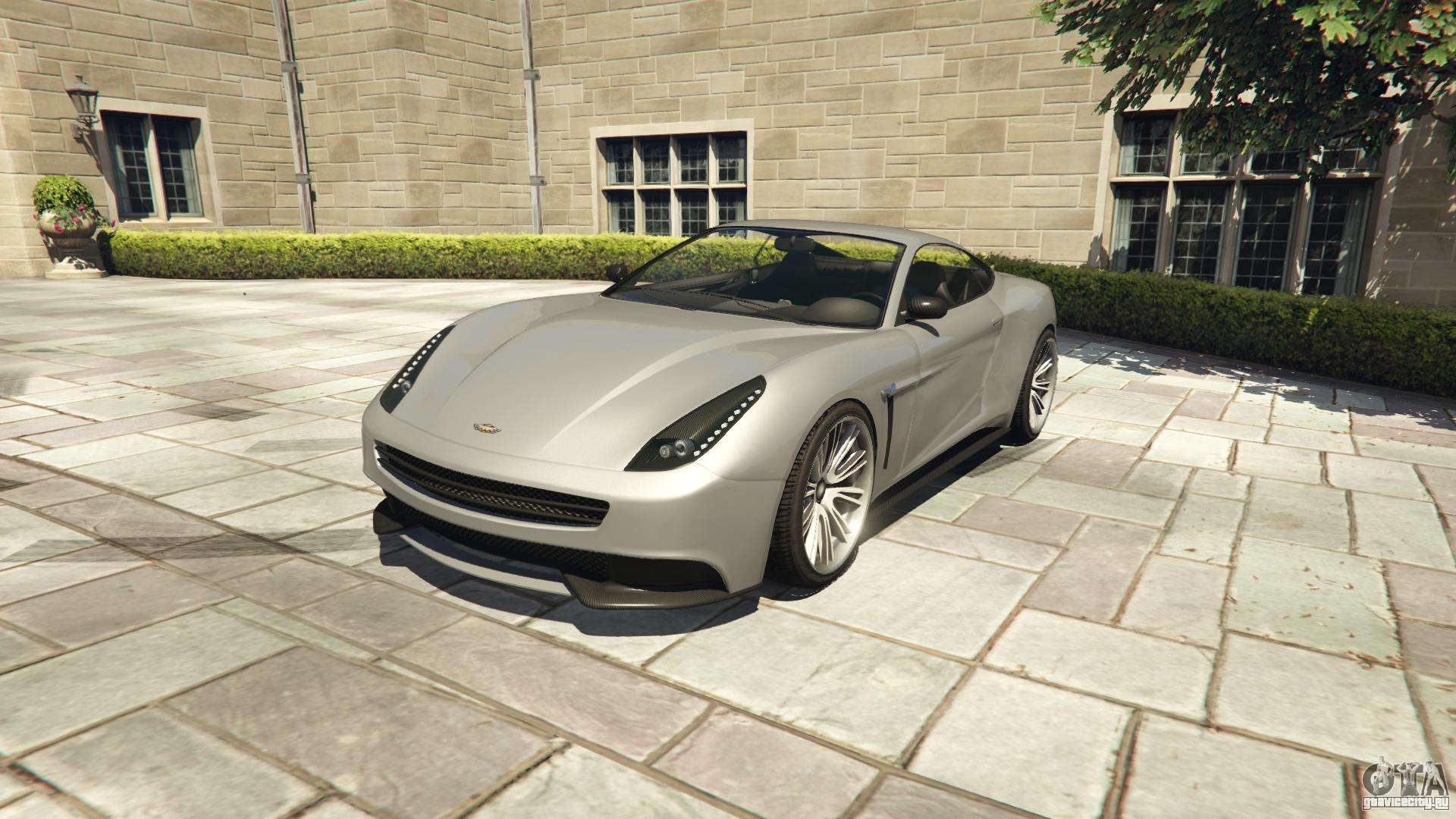 Dewbauchee Massacro из GTA 5 - вид спереди