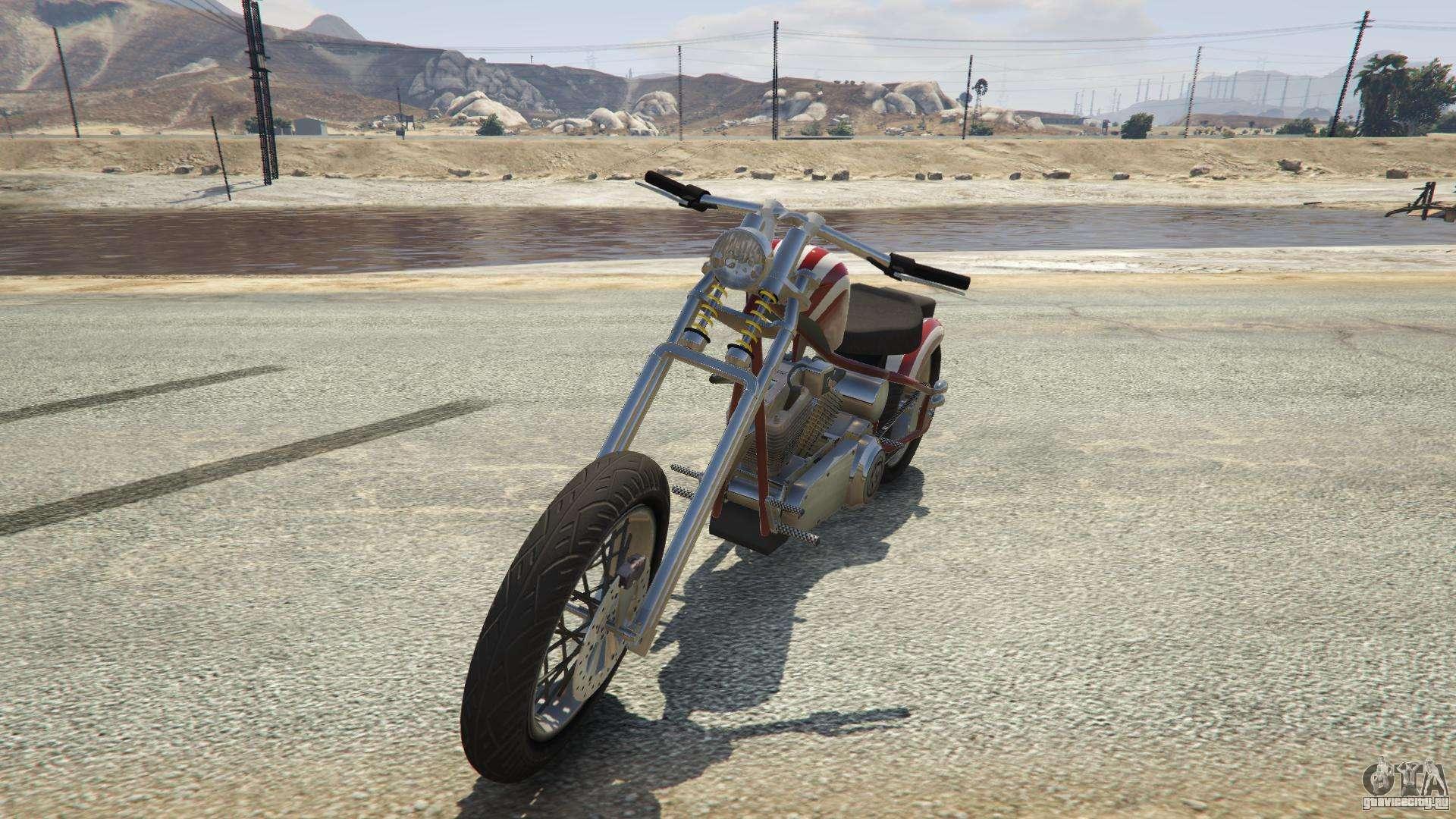Liberty City Cycles Hexer из GTA 5