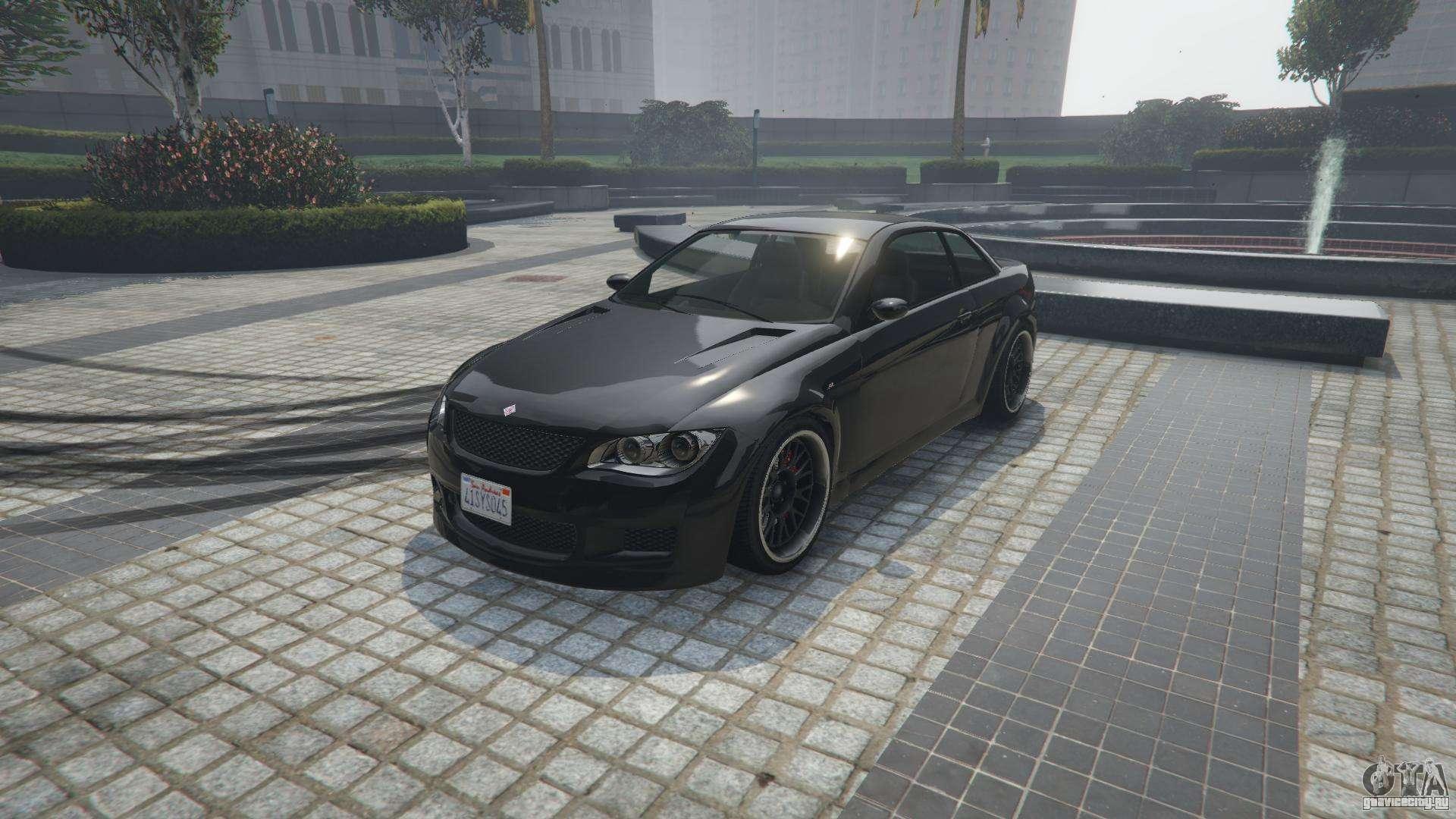 Ubermacht Sentinel XS из GTA 5 - вид спереди