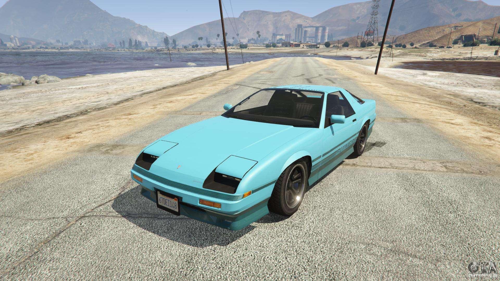 Imponte Ruiner из GTA 5 - вид спереди