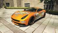 Dewbauchee Massacro Racecar из GTA 5 - вид спереди