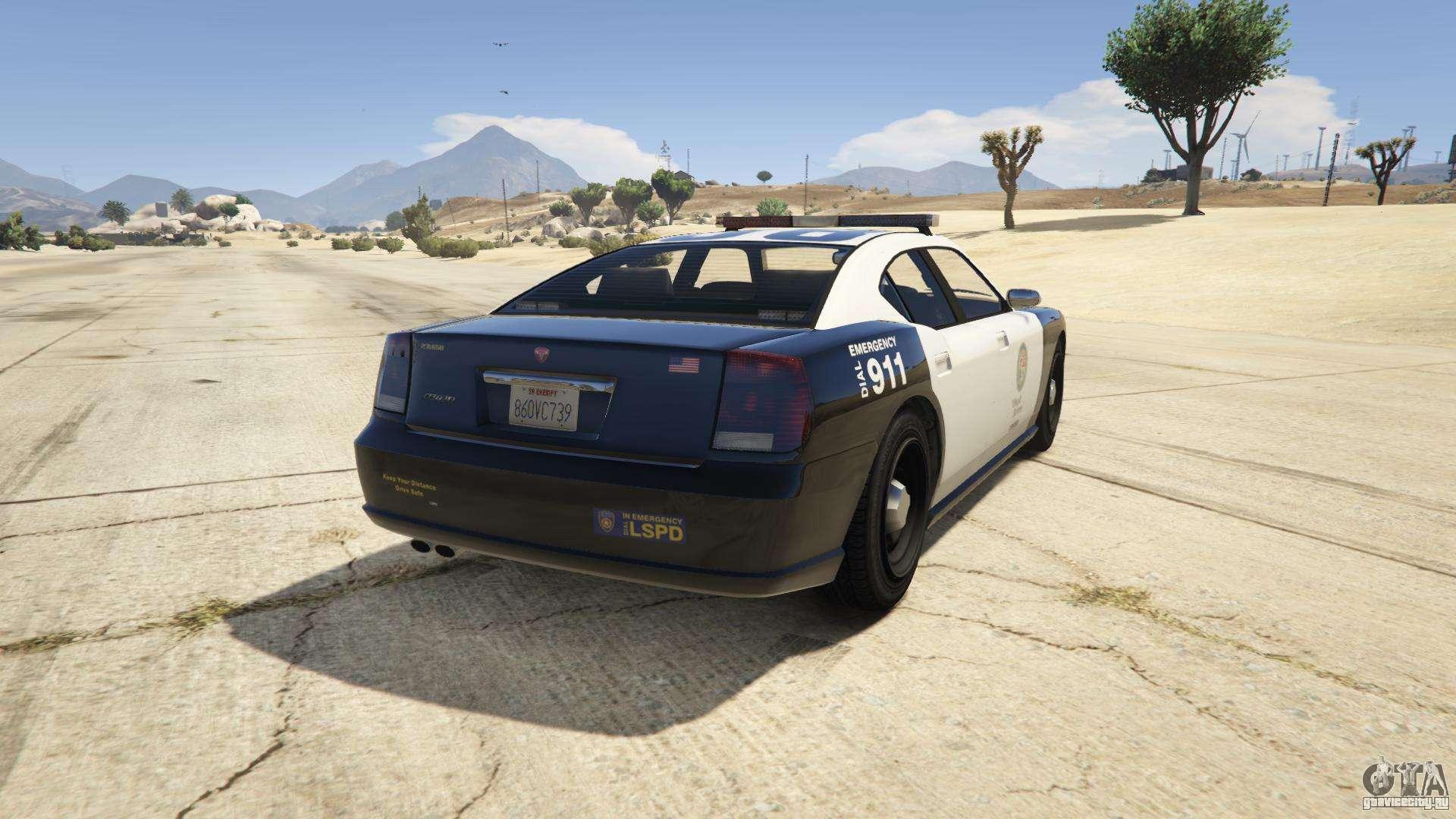 GTA 5 Bravado Police Buffalo - скриншоты, характеристики и