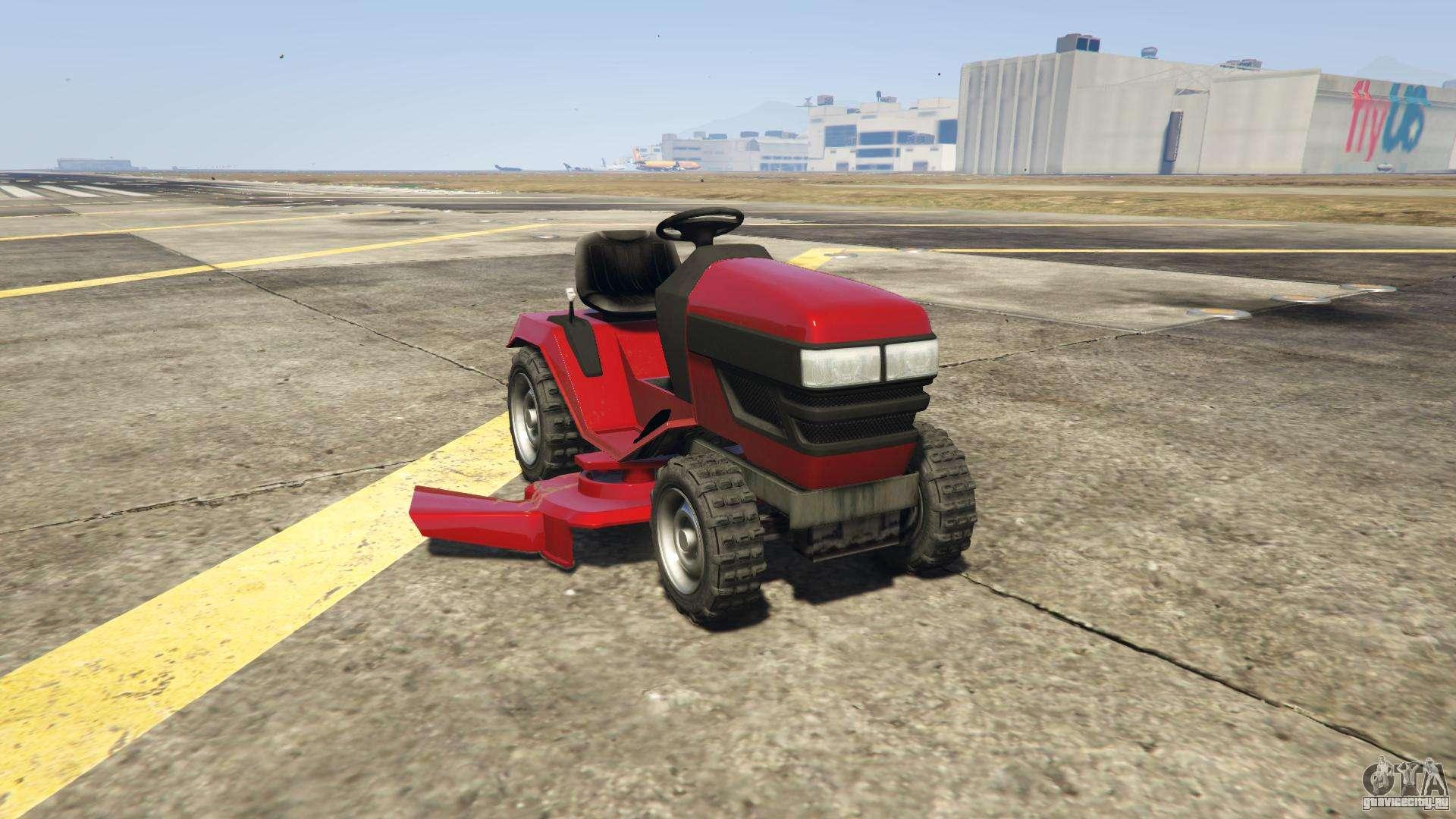 GTA 5 Jacksheepe Mower - вид спереди