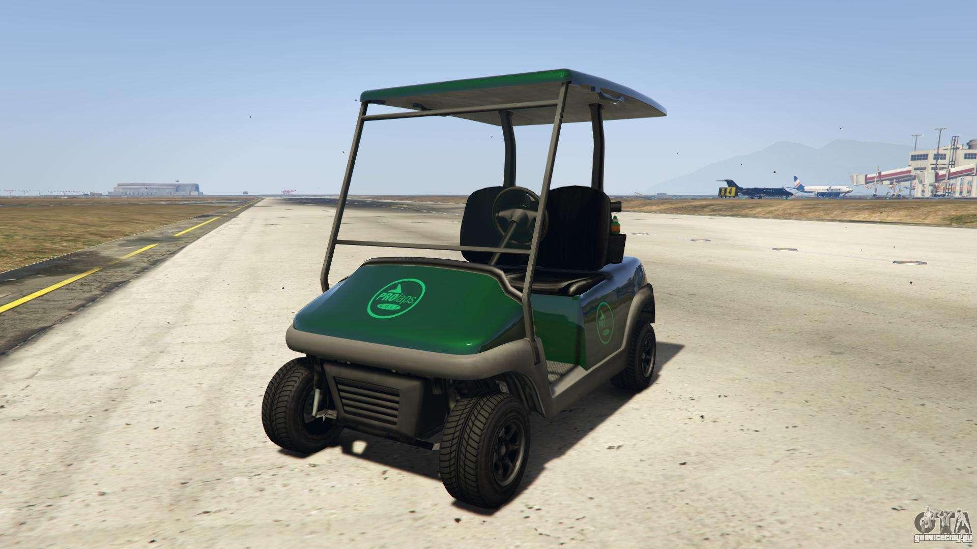 GTA 5 Nagasaki Caddy - вид спереди