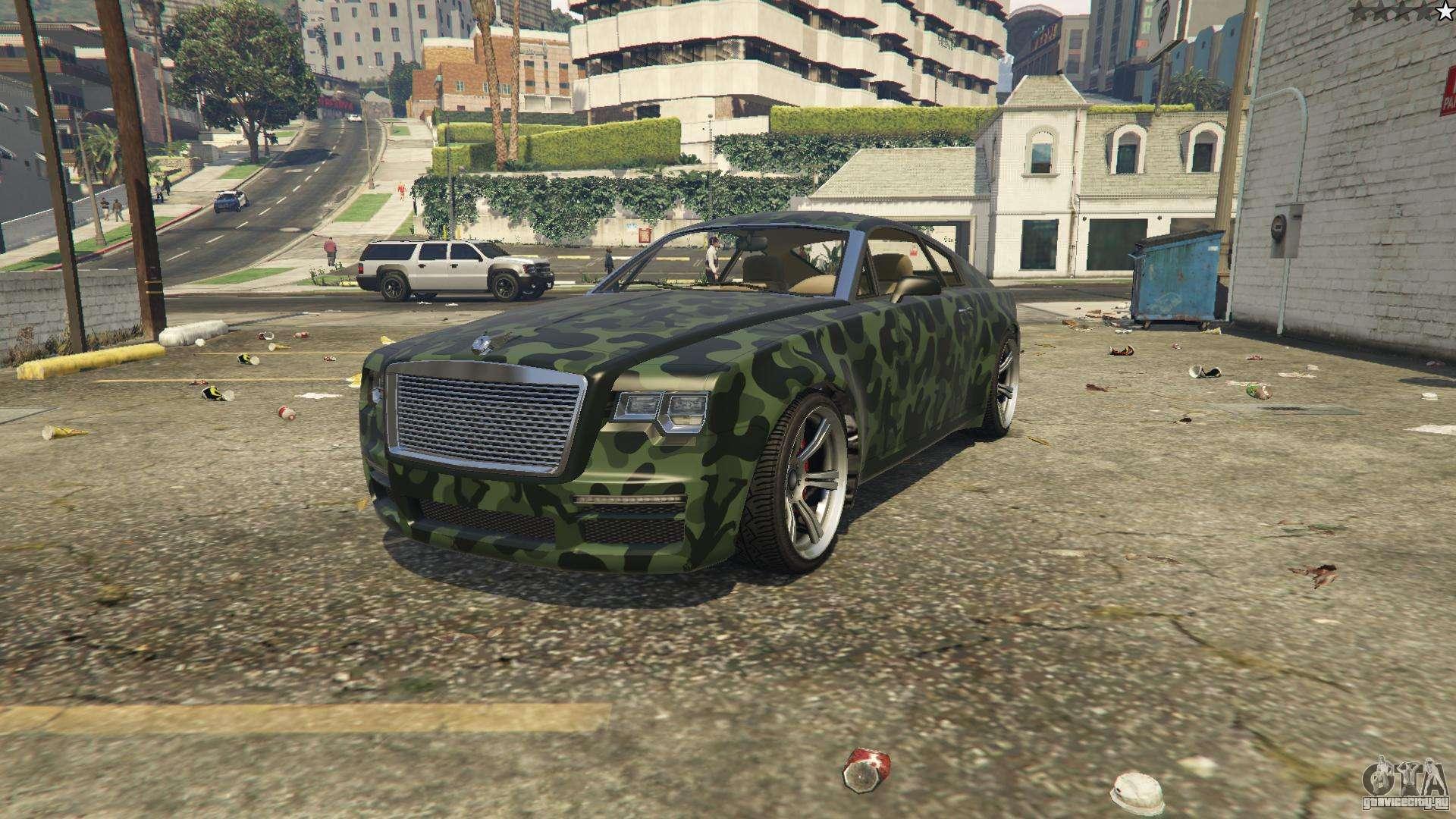 Enus Windsor из GTA 5