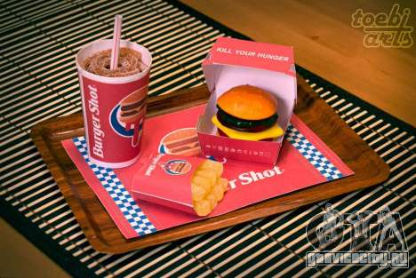 Burger Shot (Candy Menu)