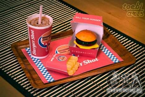 Burger Shot (Candy Menu)