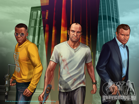 Grand Theft Auto V Protagonists
