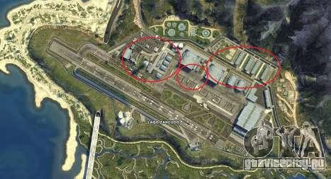 Карта Форта Занкудо из GTA 5