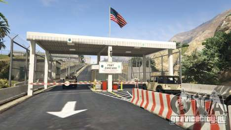 Форт Занкудо из GTA 5