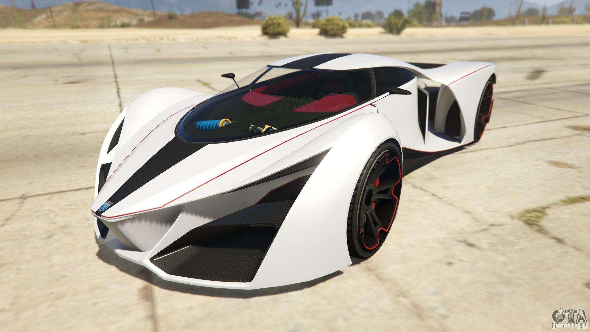 Grotti X80 Proto из GTA Online - вид спереди