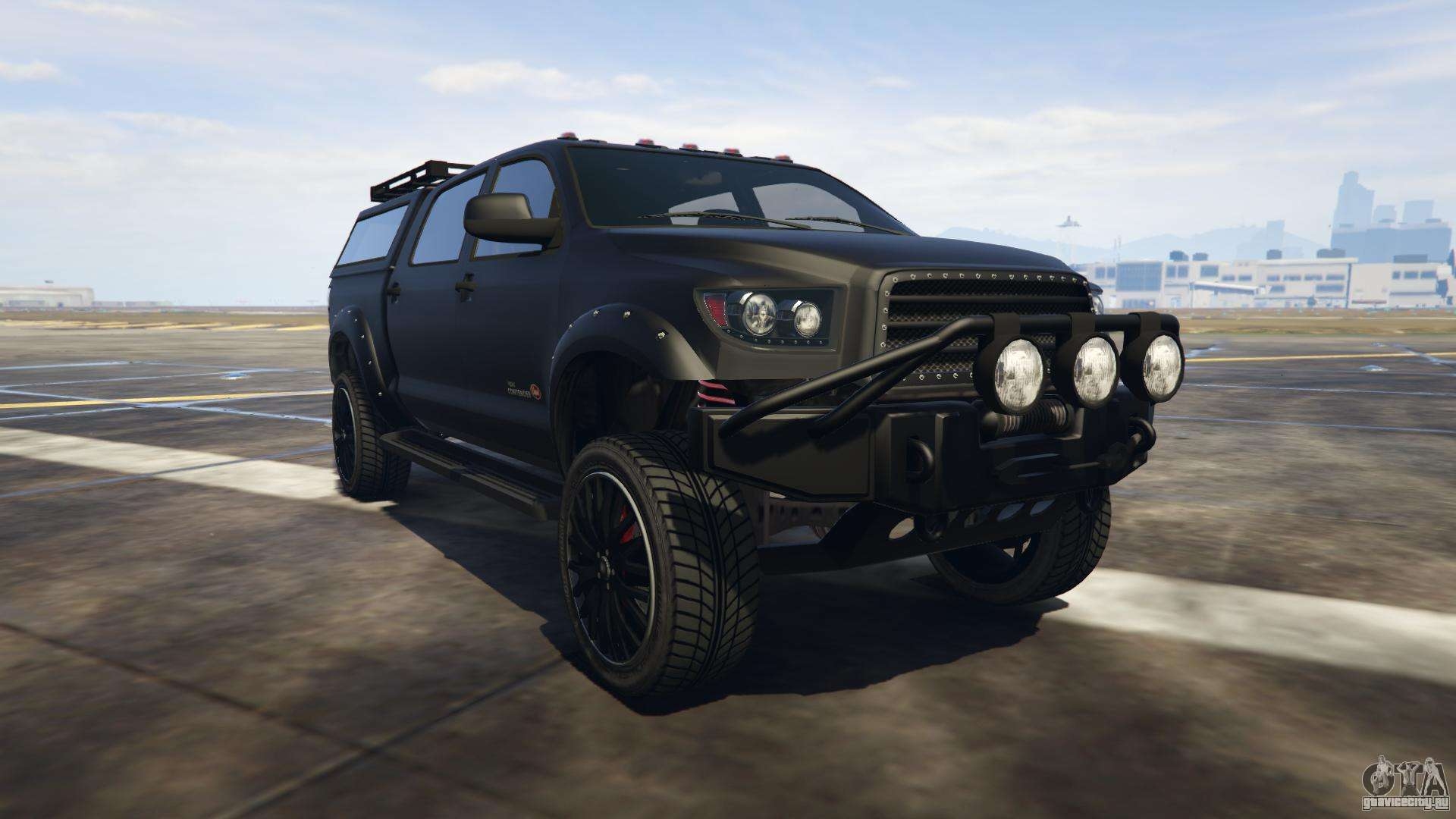 Vapid Contender из GTA Online - вид спереди