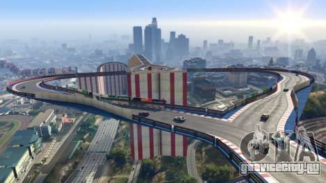 Пользовательская каскадёрская гонка в GTA Online