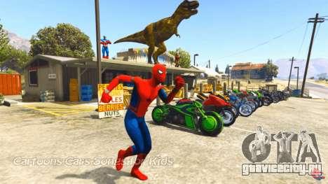 Человек Паук в GTA 5