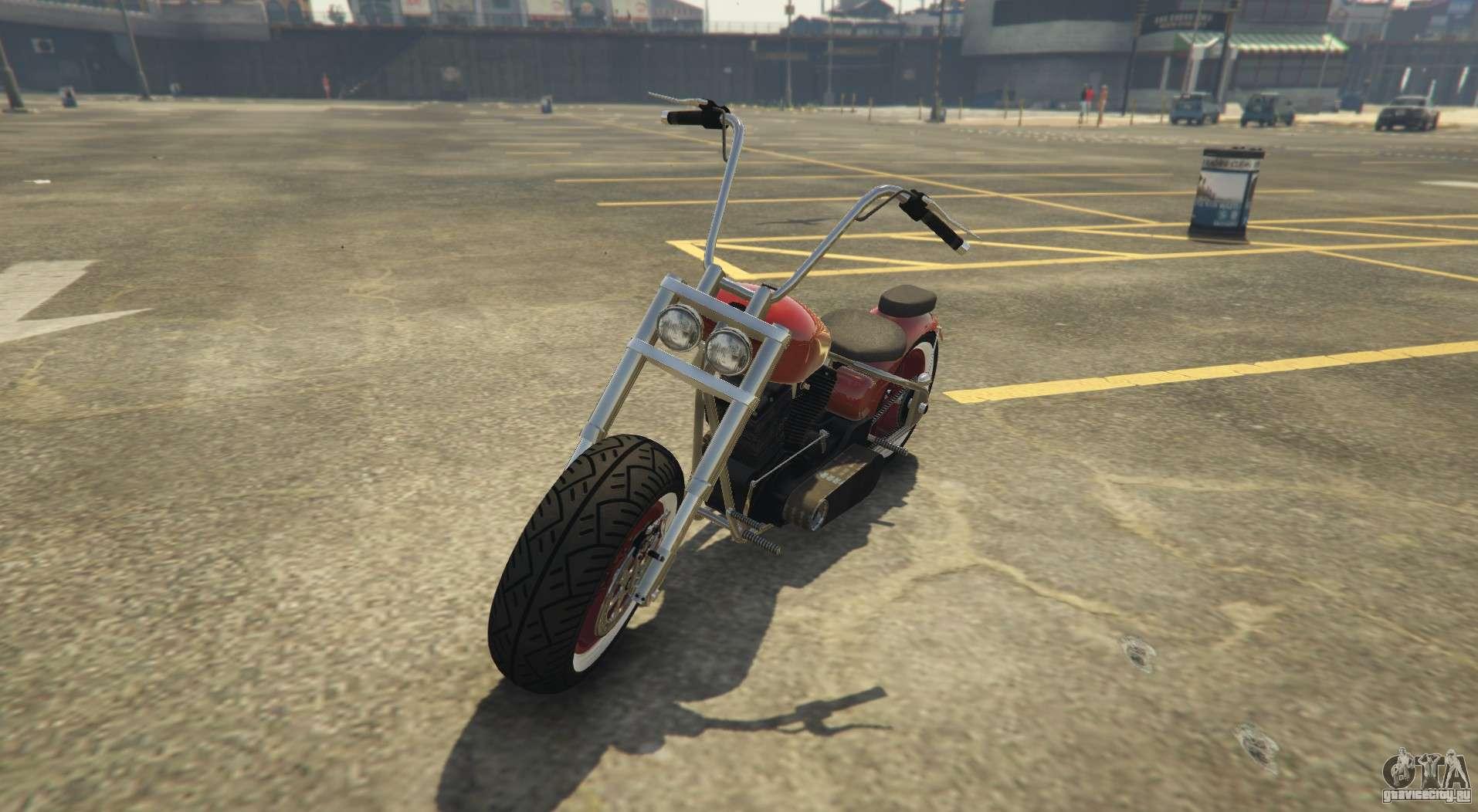 Новый чоппер в GTA Online Western Motorcycle Company Zombie Chopper