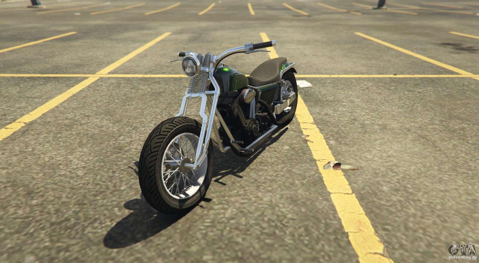 Еще один классический чоппер Western Wolfsbane в GTA Online