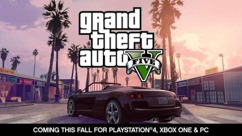 Анонс GTA V на PC, PS4 и XboxOne