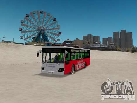 Daewoo BC211MA Baku для GTA 4 вид сзади