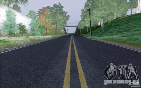 HD Дороги V3.0 для GTA San Andreas третий скриншот