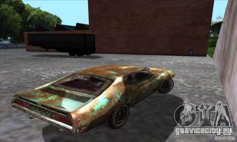 Ford Torino Cobra 429 SCJ для GTA San Andreas вид слева
