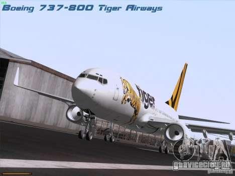 Boeing 737-800 Tiger Airways для GTA San Andreas