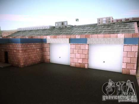Новый гараж в San-Fierro для GTA San Andreas второй скриншот