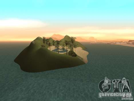 Volcano для GTA San Andreas пятый скриншот