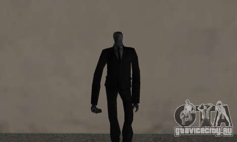 Slender Man для GTA San Andreas