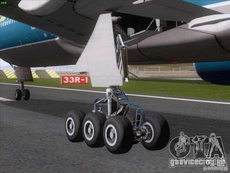 Boeing 777-2Q8ER Vietnam Airlines для GTA San Andreas вид справа