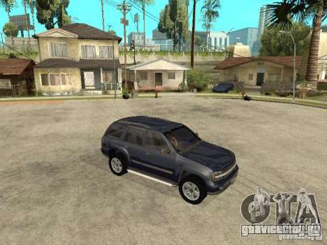Chevrolet TrailBlazer 2003 для GTA San Andreas вид сзади