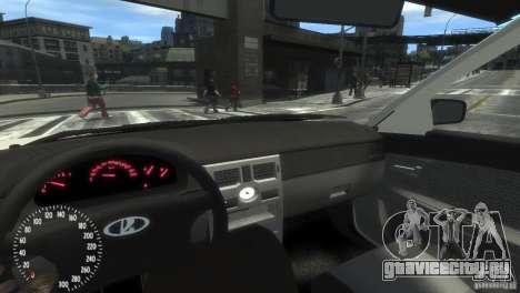 ВАЗ 2172 Pitbull для GTA 4 вид сзади