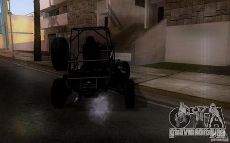 Desert Patrol Vehicle для GTA San Andreas вид справа