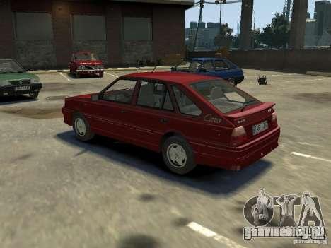 FSO Polonez Каро для GTA 4 вид справа