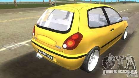 Fiat Bravo для GTA Vice City вид слева
