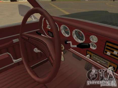 1970 Chevrolet Monte Carlo для GTA San Andreas вид сверху