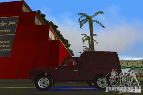 ИЖ 2715 для GTA Vice City вид справа