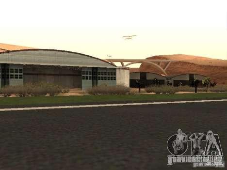 Новый Аэропорт для GTA San Andreas четвёртый скриншот