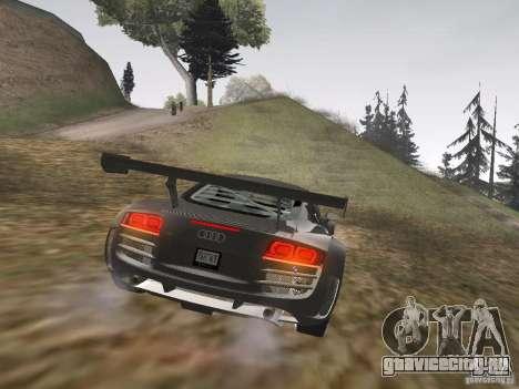 Audi R8 LMS v3.0 для GTA San Andreas вид справа
