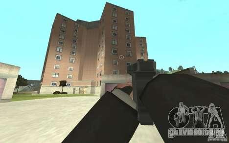 Новая анимация стрельбы  из GTA IV для GTA San Andreas