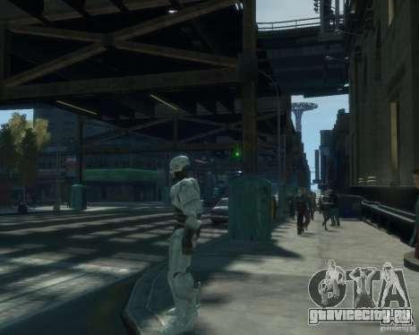 Скин Робокопа для GTA 4 четвёртый скриншот