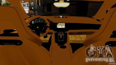 Porsche Panamera Gemballa Mistrale 2010 для GTA 4 вид слева