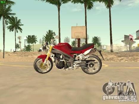 Bike Triumph для GTA San Andreas вид справа